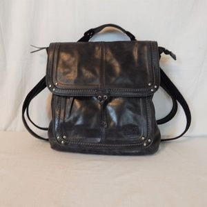 The Sak Black Ventura Convertible Backpack Purse
